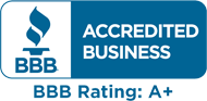 Wayne's Drains has an A+ rating with the BBB